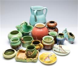 Sale 9098 - Lot 214 - Collection of Pottery Items incl. Remued, Martin Boyd, McHugh, Newtone, and Sayers