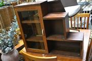 Sale 8054 - Lot 1068 - Small Step Side Bookcase