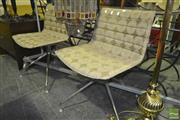 Sale 8227 - Lot 1100 - Pair of Modern Reception Chairs