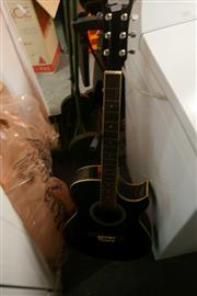Sale 8362 - Lot 2158 - Caraya Acoustic Guitar on Stand