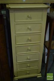 Sale 8532 - Lot 1166 - French Style 7 Drawer Timber Chest with Brass Fittings