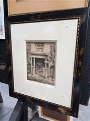 Sale 8699 - Lot 2062 - Hardy Wilson - Burdekin House, Macquarie Street 1917 lithograph, 70.5 x 63cm (frame) -