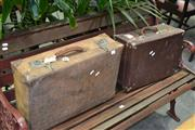 Sale 8046 - Lot 1095 - Two Vintage Suitcases