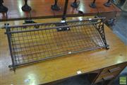 Sale 8257 - Lot 1036 - Early Reproduction New South Wales Luggage Storage Rack
