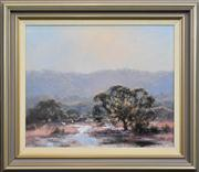 Sale 8259 - Lot 509 - Kasey Sealy (1961 - ) - Mornings Davistown, Blue Haize 49.5 x 60cm