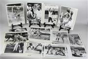 Sale 8479A - Lot 24 - Steve Cramm (UK) ,Jane Fleming Olympic Runner, Larry Sengstock (Basketball) Australian Womens and Mens Hockey and other olympic phot..