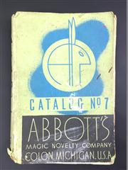 Sale 8539M - Lot 175 - Abbotts Magic Novelty Company Catalog 1943, No.7, some condition issues