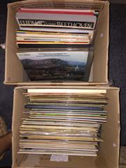 Sale 8659 - Lot 2484 - 2 Boxes of Records, mainly Classical