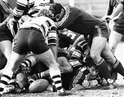 Sale 8754A - Lot 47 - Randwick vs Brothers, Australia Club Championship Rugby Union Match, Coogee Oval, NSW, 1985 - 20 x 25cm