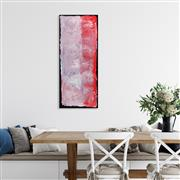Sale 8971A - Lot 5001 - Kudditji Kngwarreye (c1928 - 2017) - My Country 94 x 39 cm (stretched and ready to hang)