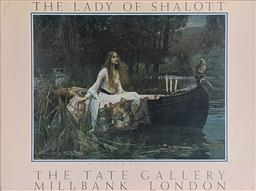 Sale 9237A - Lot 5091 - AFTER JOHN WILLIAM WATERHOUSE (1849-1917) (ENGLISH) The Lady of Shalott, 1889 offset lithograph 80 x 60 cm (frame: 91 x 72 cm) signe...