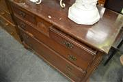 Sale 8115 - Lot 1184 - Raised Chest of 4 Drawers