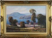 Sale 8795K - Lot 44 - Leon Hanson oil on board