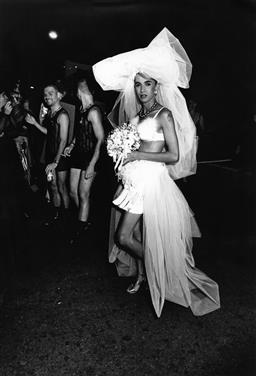 Sale 9082A - Lot 5017 - The Bride, Sydney Gay and Lesbian Mardi Gras Parade (1994), 21 x 30 cm, silver gelatin, Photographer: unknown