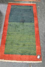 Sale 8138 - Lot 991 - Persian Hand Knotted Gebbeh (74 x 153cm)