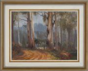 Sale 8433 - Lot 2025 - Reginald Campbell (1923 - 2008) - Mt. Wilson 29.5 x 39.5cm