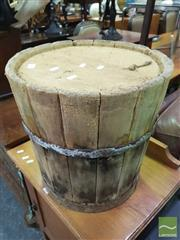Sale 8447 - Lot 1027 - Rustic Bucket Form Stool