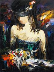 Sale 8538 - Lot 507 - Sergei Inkatov (1971 - ) - Lady in Hat, 2008 92 x 73cm