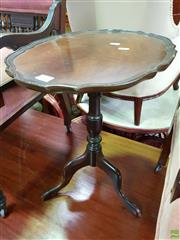 Sale 8570 - Lot 1036 - Small Timber Wine Table