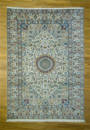 Sale 8601C - Lot 54 - Super Fine Persian Nain Silk inlay 356x245