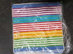 Sale 9176 - Lot 2319 - 3 Striped Cushion Covers