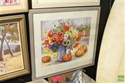 Sale 8468 - Lot 2048 - Shirley Holmes - Still Life, watercolour on paper, 48 x 58cm, signed lower left