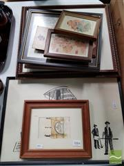 Sale 8471 - Lot 2094 - Collection of Artworks & Prints incl. Egyptian