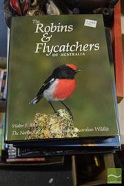 Sale 8530 - Lot 2299 - 4 Volumes National Photographic Index of Australian Wildlife incl. Wrens & Warblers; Shorebirds; Robins & Flycatchers; etc