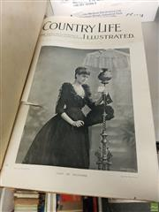 Sale 8563T - Lot 2462 - Bound Volume Country Life Illustrated, Sat. 1st Jan. 1898 to Sat. 18th March 1899