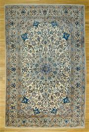 Sale 8601C - Lot 55 - Super Fine Persian Nain Silk inlay 304x201