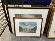 Sale 8888 - Lot 2047 - F N Satory and Artist Unknown (2 works), original pastels, signed (1)