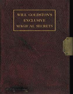 Sale 7919A - Lot 1816 - Will Goldston Exclusive Magical Secrets