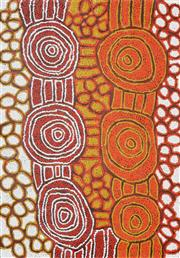 Sale 8235A - Lot 41 - Debra Young Nakamarra (1964 - ) - Women's Ceremony 96 x 68cm