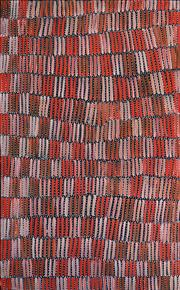 Sale 8301 - Lot 521 - Jeannie Mills Pwerle (1965 - ) - Bush Yam 150 x 90cm