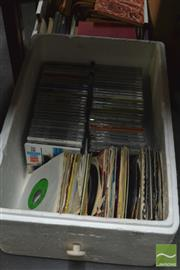 Sale 8407T - Lot 2478 - Box of CDs & Records
