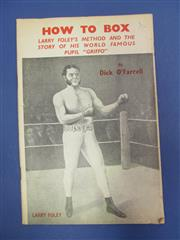 Sale 8419A - Lot 79 - Boxing Books - a box of books including many on Ali