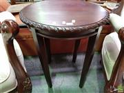 Sale 8570 - Lot 1043 - Timber Occasional Table