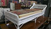 Sale 7944A - Lot 1068 - White Cane Day Bed