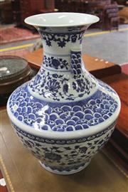Sale 8096 - Lot 81 - Chinese Blue and White Vase