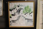 Sale 8362 - Lot 297 - Framed Chinese Watercolour