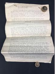 Sale 8539M - Lot 177 - How to Read Sealed Billets by R. Alan Nelson - an original typed manuscript. Copyrighted 1928, Ohio.