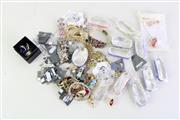 Sale 8948 - Lot 47 - A Large Group of New Crystal and Rhinestone Set Costume Jewellery