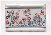 Sale 9040 - Lot 34 - A Ceramic Serving Tray Made Marked Royal Pavilion Brighton Exclusively For Elizabeth Arden (36cm x 34cm)