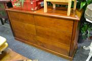 Sale 8099 - Lot 846 - Timber Chest of 6 Drawers