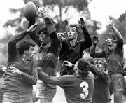 Sale 8754A - Lot 50 - New Zealand's Taranaki vs Sydney City Second Division, Rugby Union, Hornsby, NSW, 1991 - 20 x 25cm