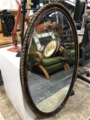 Sale 8809 - Lot 1050 - Pair of Gilt Framed Mirrors