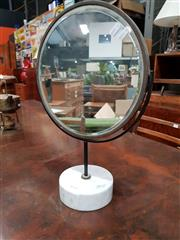 Sale 8908 - Lot 1020 - Shaving Mirror On Marble Base by Peter Cuddin