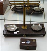 Sale 7969 - Lot 24 - Set of Griffin & Tatlock Bakelite Scales with Weights