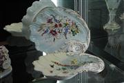 Sale 8024 - Lot 22 - Pair of 19th Century Handpainted Shell Plates