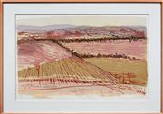 Sale 8068A - Lot 33 - Gail English (XX) - Autumn Ploughing 71 x 105cm
